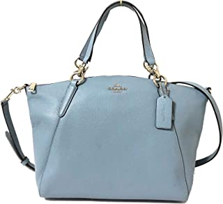 f31903947ebe21 Coach Leather Small Kelsey Cross Body Bag