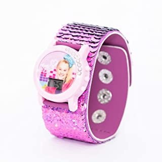 Jojo Siwa - Shinning Sequence Digital Watch - Outdoor Electronic Wristwatch (6-15 years Boys)