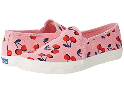Keds x kate spade new york Double Decker Cherry Canvas (Pink Multi Canvas) Women