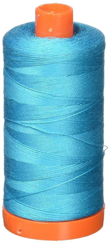 Aurifil Mako Cotton Thread Solid 50wt 1422yds Turquoise