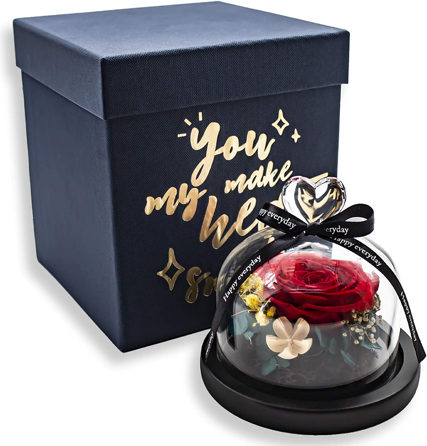 Eternal Rose Preserved Flowers Real Forever Max 56% OFF N Handmade Purchase