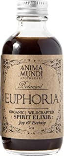 Anima Mundi Euphoria Spirit Elixir - Love Potion for Women and Men with Damiana, Muira Puama & Catuaba, Liquid Supplement ...