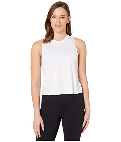 Ultracor Mini Star Racerback Tank (White/Iridescent Gold) Women