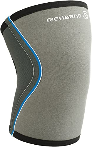 new arrival Rehband outlet online sale Core Line Knee Support 7751 5mm - X-Small - Gray - 1 online sale Sleeve outlet online sale