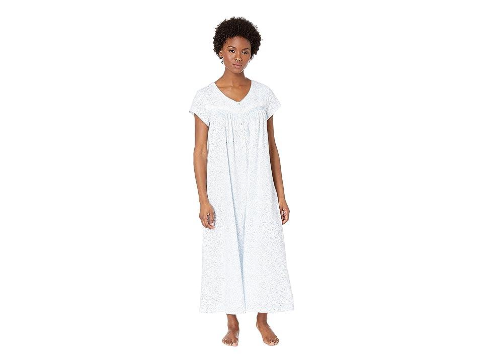 Eileen West Cap Sleeve Ballet Nightgown (Peri Viney Floral) Women