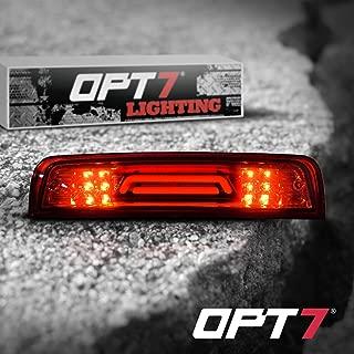 OPT7 09-17 For Dodge Ram LED 3rd Brake Light Cargo Light Upgrade- Tube/Red housing Runner Series-High Power Cree XM