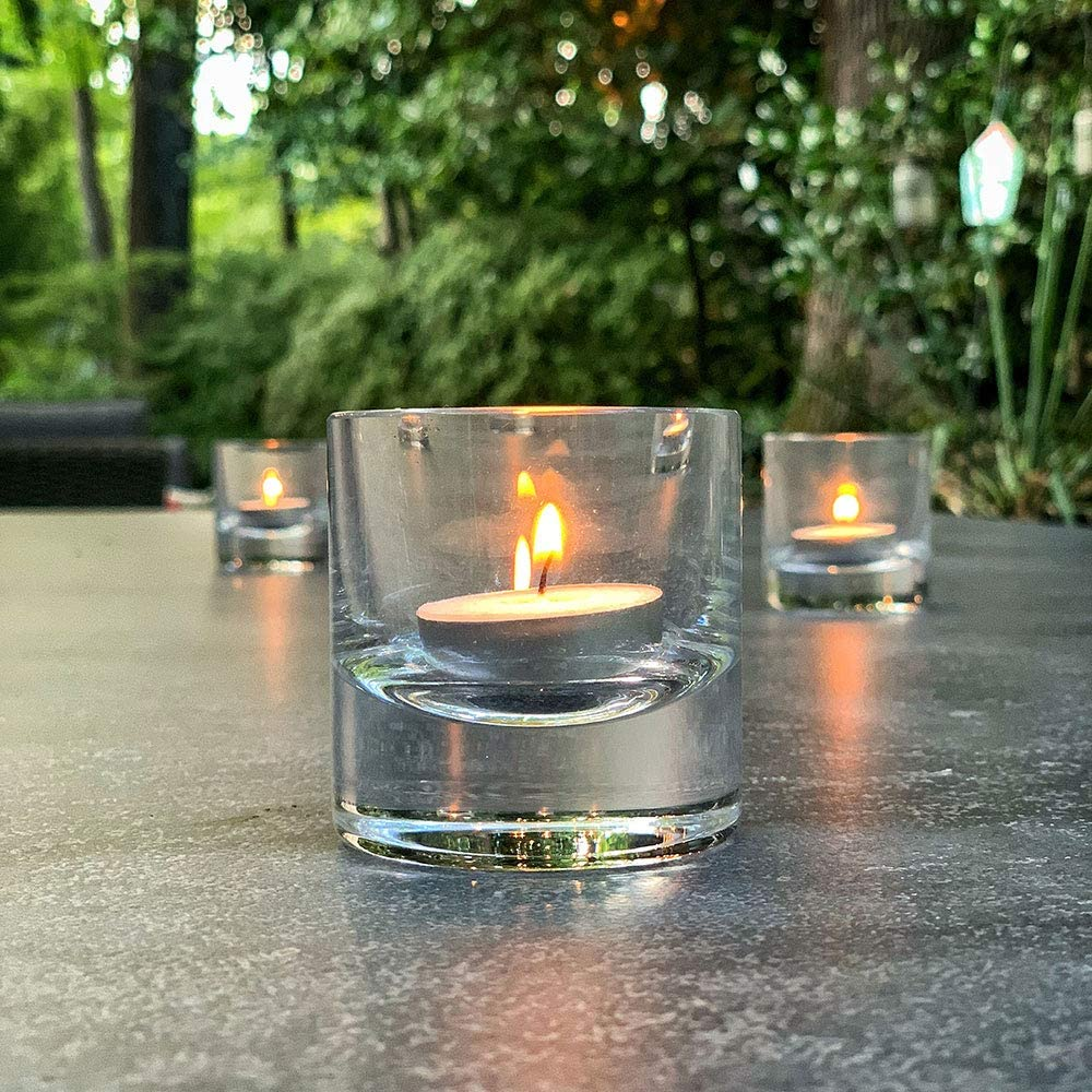 Turgla Home Senses Elite Votive Max 80% OFF Vot 2.50x2.50x2.50IN Round Save money Glass