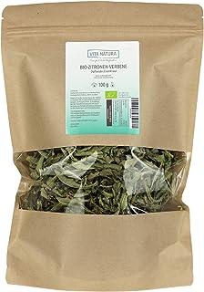 Vita Natura Zitronenverbene Tee, Duftendes Eisenkraut, Bio, 1er Pack 1 x 100 g