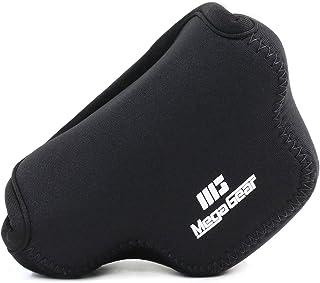 MegaGear MG058 Estuche para cámara fotográfica - Funda (Funda Panasonic Panasonic Lumix DMC-GM1 Negro)