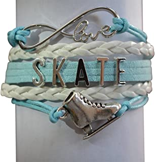 Womens Figure Skating Jewelry- Figure Skating Bracelet - Perfect Figure Skater Gifts
