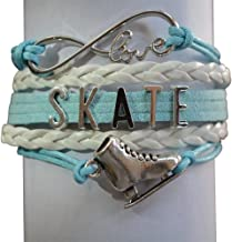 Infinity Collection Womens Figure Skating Jewelry- Figure Skating Bracelet - Perfect Figure Skater Gifts