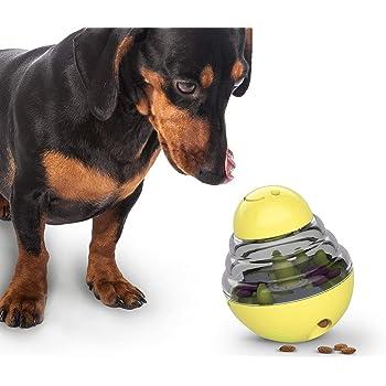 犬用ボール おやつおもちゃ おやつボウル 知育玩具 おやつ おもちゃ ボウル 早食い防止 餌入れ ストレス解消 エサ 供給 知的な成長をサポートするペット用の知育玩具 倒れないエッグ IQ&挙動激励 運動不足解消
