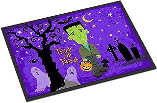 Caroline's Treasures VHA3021JMAT Halloween Frankie Frankenstein Indoor or Outdoor Mat 24x36, 24H X 36W, Multicolor