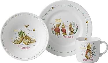 Wedgwood Peter Rabbit Girl's 3-Piece Set