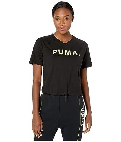 PUMA Chase V Tee (PUMA Black) Women