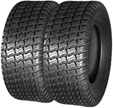 MaxAuto 23x8.50-12 23x8.5-12 Turf Tires for Lawn & Garden Mower 4Ply, Set of 2