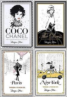 Megan Hess Collection 4 Books Set (Coco Chanel, The Dress, Paris, New York)