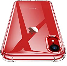 iPhone XR Case, CANSHN Clear Protective Heavy Duty Case with Soft TPU Bumper [Slim Thin] Case for iPhone XR 6.1 Inch (2018...