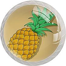 Lade handgrepen trekken ronde kristallen glazen kast knoppen keuken kast handvat,Fruit