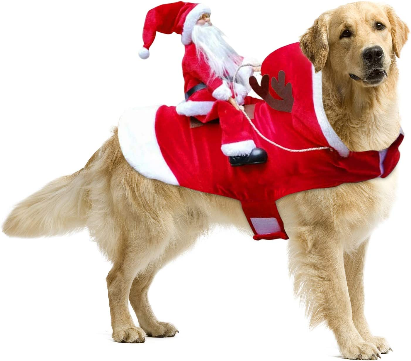 Cash special price Dog Costume Christmas Clothes for Large Small 5 ☆ popular S Dogs Medium