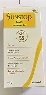 SUNSTOP GOLD SUNSCREEN GEL SPF 55 PA+++ - gel based sunscreen 50g