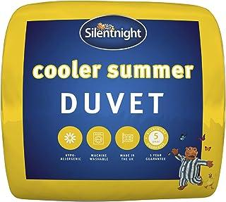 Silentnight Cooler Summer 4.5 Tog Duvet, White, Single
