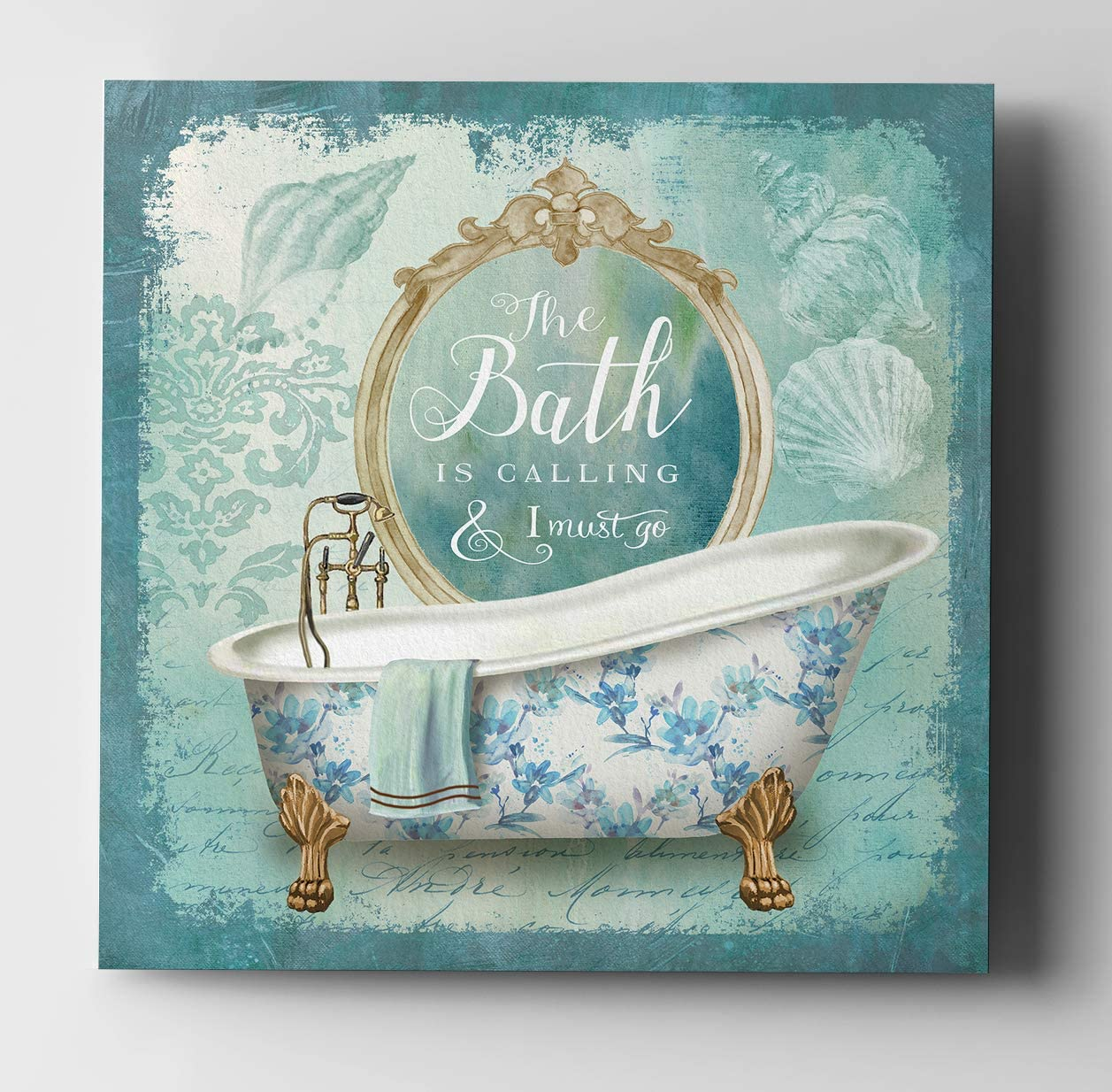 WEXFORD HOME Excellent Mirror Bath II-Gallery 32 shop Wrapped Art Canvas Print