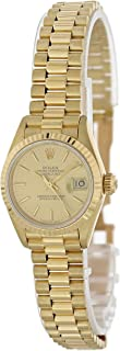 Rolex Datejust Automatic-self-Wind Female Watch 69178 (Certified Pre-Owned)
