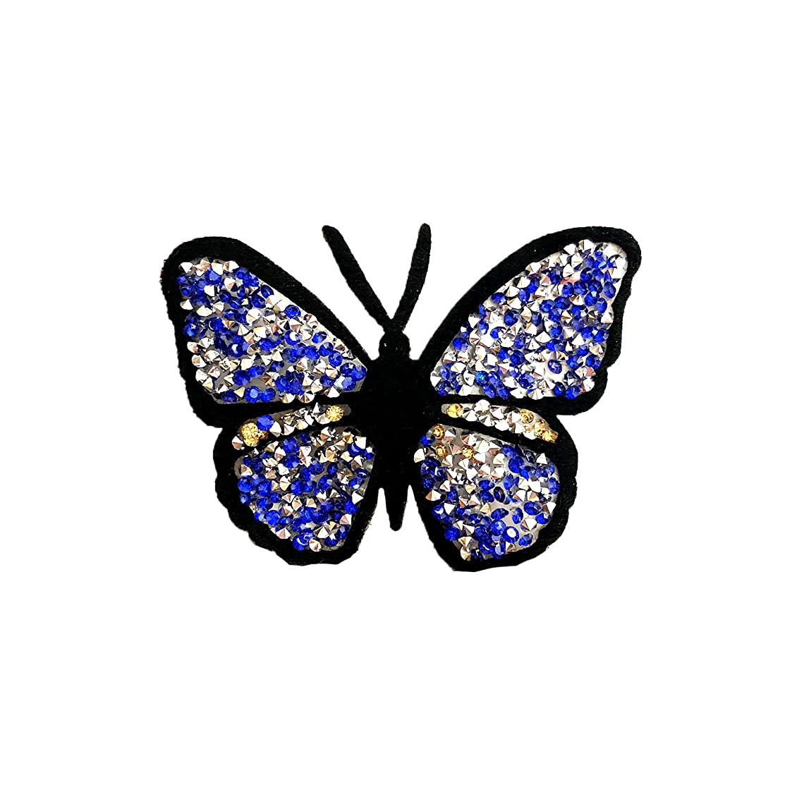 FabStix Jewel Butterfly Iron-On Patchette and Sticker