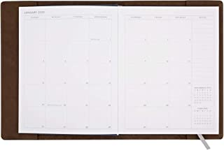 Best leather refillable planner Reviews