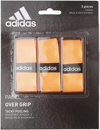 Gobernable primer ministro Deportista  Amazon.com : adidas - Overgrip Set, One Size Orange Orange Size:one Size :  Sports & Outdoors
