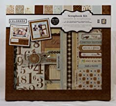 Colorbok Shabby Chic 12 inch x 12 inch Scrapbook Kit