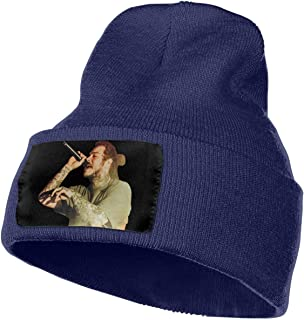 66b0c5fd122e4 Post Malone Unisex Chapeau Knit Slouchy Beanie Cool Beanie Head Wear Fashion  for Outdoor   Home
