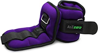 A2ZCARE Ankle Weight/Wrist Weight Set with Neoprene Padding for Soft, Comfortable Feel