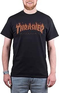 Flame Halftone T-Shirt