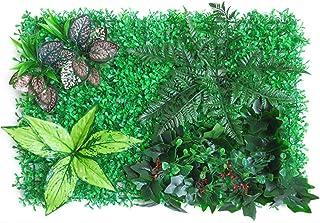 Haie Artificielle Plante Verte - Panneau De Mur Végétal Artificiel, Artificielle Plante Clôture De Jardin, 40 X 60 Cm, Déc...