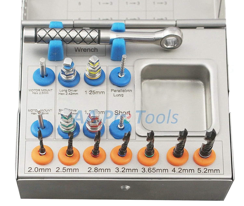 AAProTools Drills Kit Dental Basic Max 66% OFF Ratchet Drivers Hex Par Tools Sales for sale