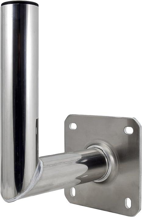 Satix, 00-6311KA, Soporte de Pared para Antena Satélite, 25 cm Aluminio