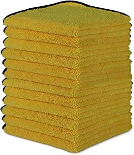 AIDEA Microfiber Detailing Towel-12PK, Cleaning Cloth Drying Towel, Scratch-Free, Strong Water Absorption Cleaning Cloth f...