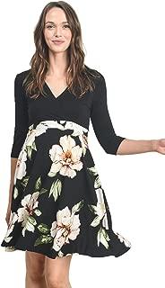 Women's Floral Maternity Mini Dress