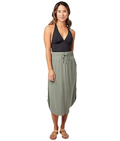 Carve Designs Peyton Skirt (Moss) Women