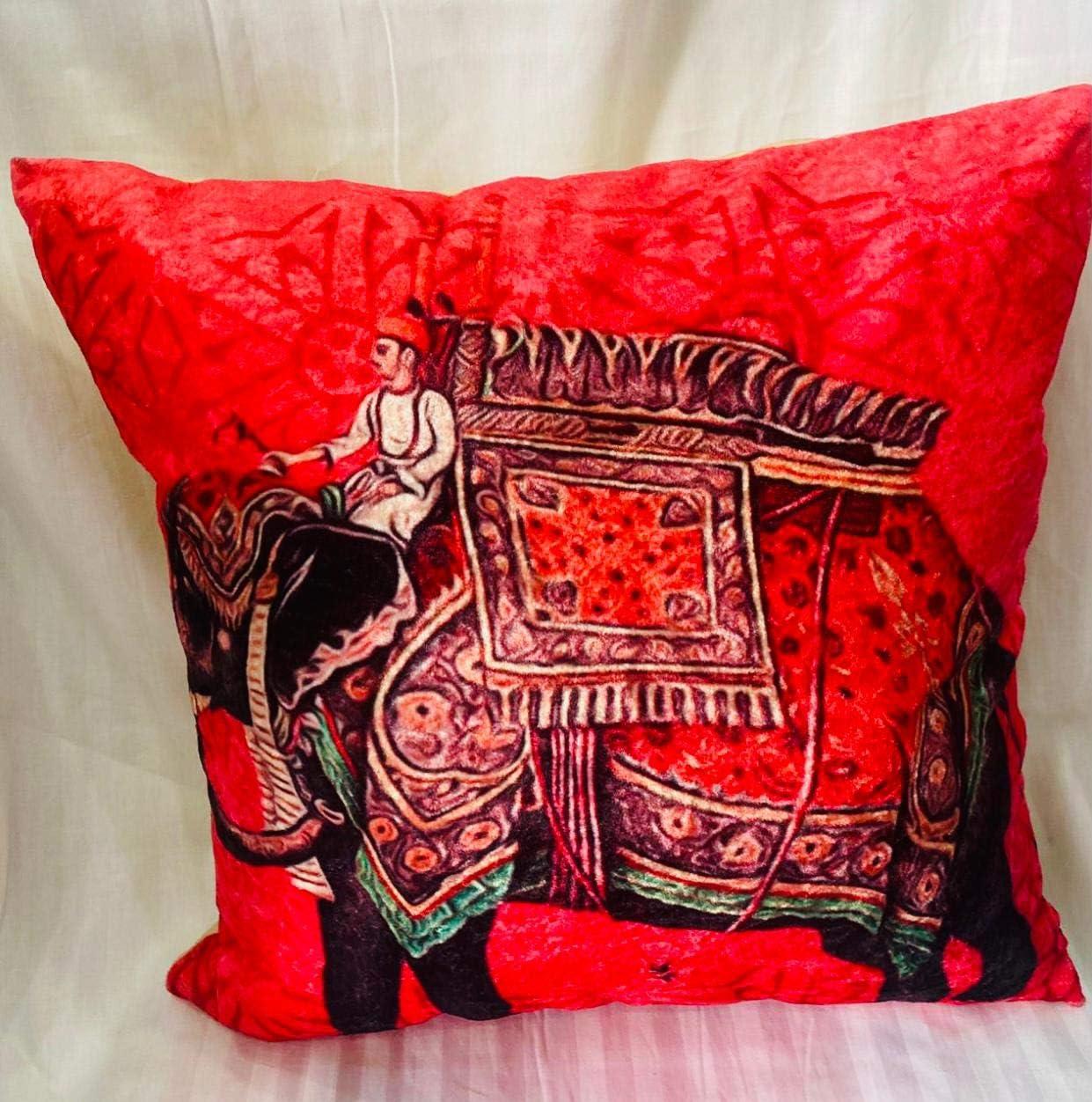 AH Cushion Covers Set of price 4 Pcs. 16X16 Sparkle Inch Velvet Prem 40% OFF Cheap Sale