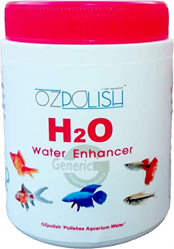 OZpolish H2O by Aquatic Habitat | Aquarium Water Conditioner with Essential Minerals and Salts | Reduce Calcium Linin...