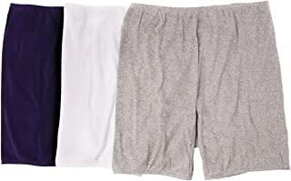 Women's Plus Size 3-Pack Cotton Bloomer