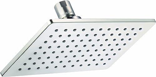 "DANZE D460060BN Mono Chic 5"" x 8"" 1 Function Showerhead 2.5gpm Brushed Nickel"