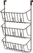 Spectrum Diversified Lid Holder, Storage Organizer, Over the Cabinet Door, Bronze