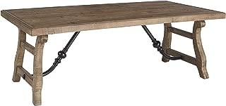 Ashley Furniture Signature Design - Dazzelton Casual Rectangular Cocktail Table - Two-Tone