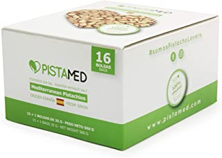 Pistachos ecológicos PISTAMED - 560 gramos. Tostado