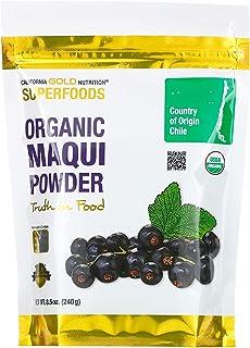 California Gold Nutrition Superfoods, Organic Maqui Powder, 8.5 oz (240 g)