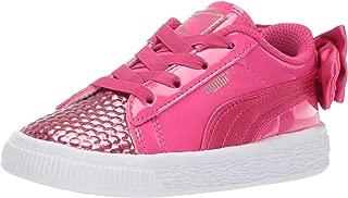 PUMA Kids' Basket Bow Sneaker